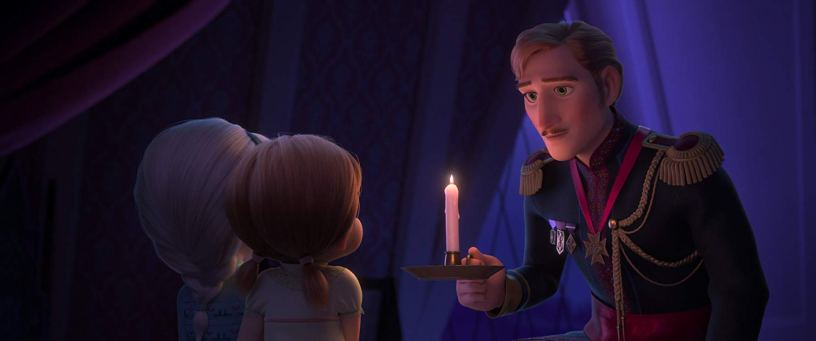 Alfred Molina co-stars as the voice of King Agnarr, the father of Elsa and Anna, in the Walt Disney Animation sequel FROZEN II (2019)