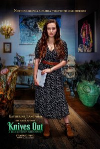 Katherine Langford stars as Meg Thrombey, the family's social activist, in Rian Johnson's whodunit mystery KNIVES OUT (2019)