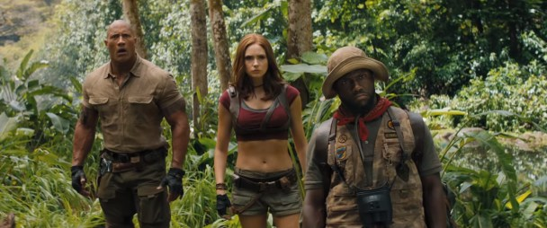 Dwayne Johnson, Karen Gillan, and Kevin Hart star in the action comedy sequel JUMANJI: THE NEXT LEVEL (2019)