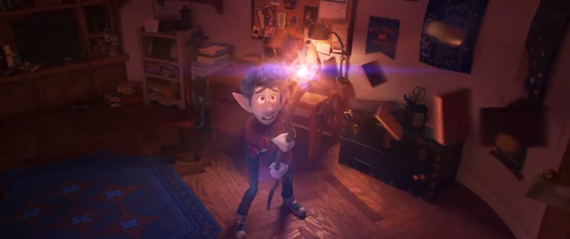 Tom Holland stars as the voice of Ian, a teenage elf, in Pixar's ONWARD (2020)