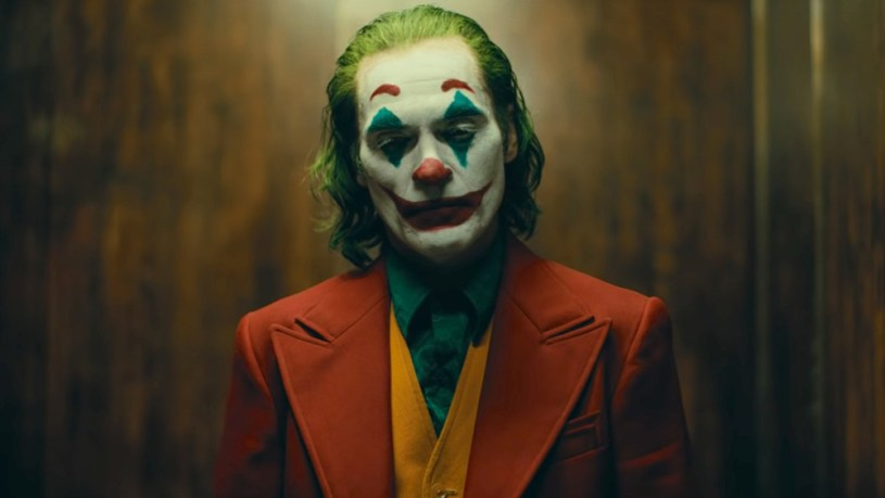 Joaquin Phoenix stars as Arthur Fleck, a.k.a. Joker, in the DC original origin story JOKER (2019)