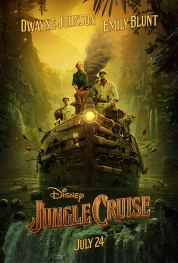 One Sheet Poster for Walt Disney Studios JUNGLE CRUISE (2020)