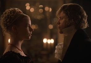 Anya Taylor-Joy (Emma) and Johnny Flynn (George) star in the adaptation of Jane Austen's EMMA (2019)