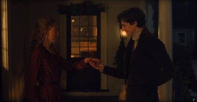 Saoirse Ronan and Timothée Chalamet star in Greta Gerwig's adaptation of LITTLE WOMEN (2019)