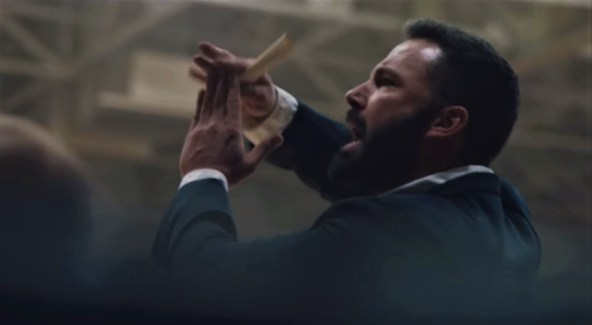 Ben Affleck stars as a high school basketball coach struggling with alcoholism in the sports drama THE WAY BACK (2020)
