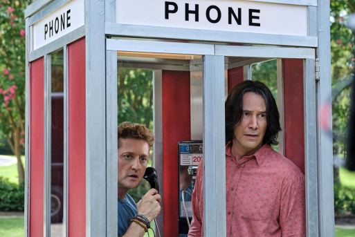 Alex Winter and Keanu Reeves return as Bill and Ted in BILL & TED FACE THE MUSIC (2020)