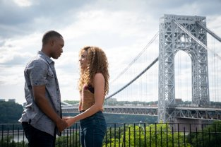 Corey Hawkins (Benny) and Leslie Grace (Nina) star in the film adaptation of Lin-Manuel Miranda's Tony winner for Best Musical IN THE HEIGHTS (2020)