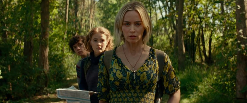 Emily Blunt, Millicent Simmonds, and Noah Jupe star in A QUIET PLACE: PART II (2020)