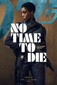 Character Poster for the new 007 Nomi (Lashana Lynch) in NO TIME TO DIE (2020)