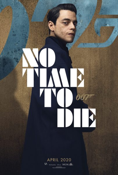 Character Poster for the new Bond villain Safin (Rami Malek) in NO TIME TO DIE (2020)