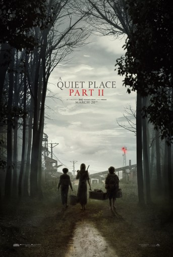 Poster for A QUIET PLACE PART II (2020)