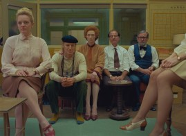 Elisabeth Moss, Owen Wilson, Tilda Swinton, Fisher Stevens and Griffin Dunne co-star in Wes Anderson's THE FRENCH DISPATCH (2020)