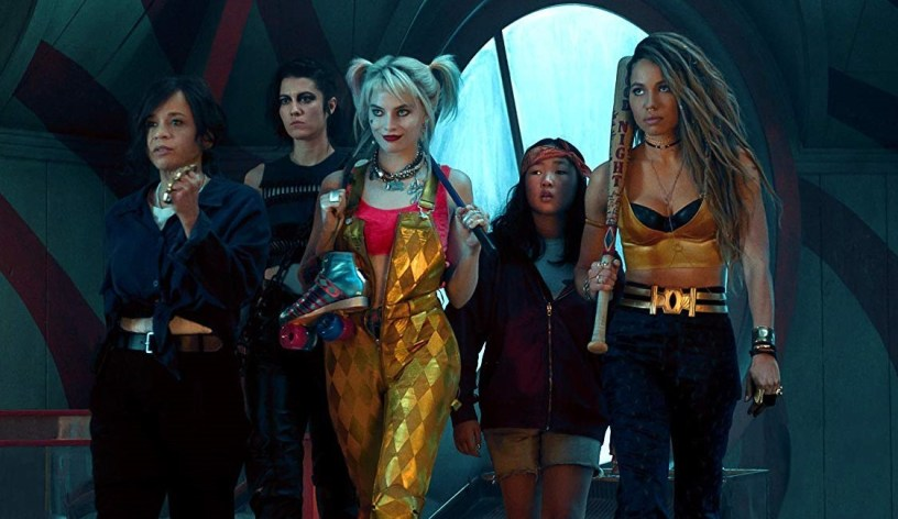 Rosie Perez, Mary Elizabeth Winstead, Margot Robbie, Ella Jay Basco, and Jurnee Smollett-Bell star in BIRDS OF PREY (2020)