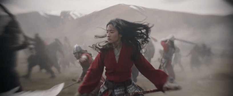 Yifei Liu stars in the live action remake of Disney's MULAN (2020)