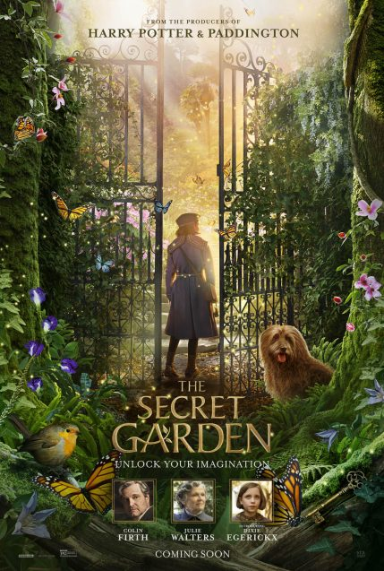 Official Poster for the latest adaptation of the beloved novel THE SECRET GARDEN (2020)