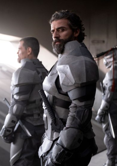 Oscar Isaac co-stars as Duke Leto Atreides in director Denis Villeneuve's adaptation of Frank Herbert's DUNE (2020) (PHOTO BY CHIABELLA JAMES)