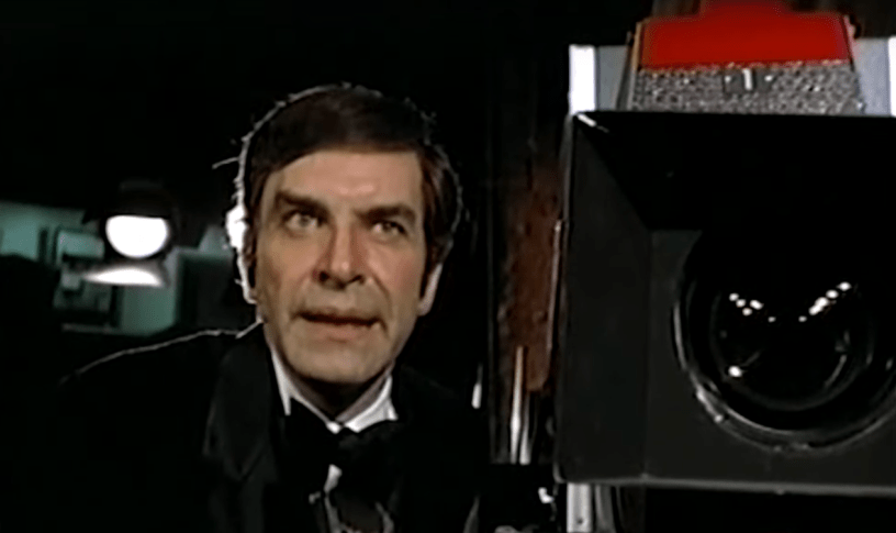 Martin Landau stars as Paul Savage in Steven Spielberg's TV movie political thriller SAVAGE (1973)