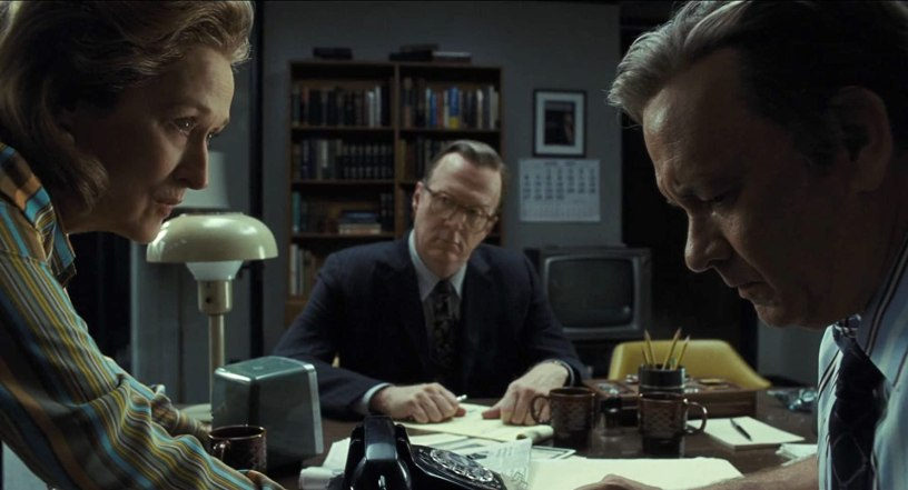 Meryl Streep, Tracy Letts, and Tom Hanks star in Steven Spielberg's Watergate drama about the Pentagon Papers, THE POST (2017)