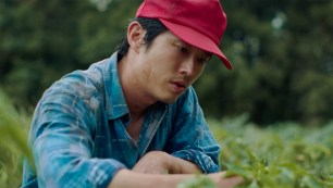Steven Yeun stars as Korean immigrant American farmer in the Korean-American family drama MINARI (2020)