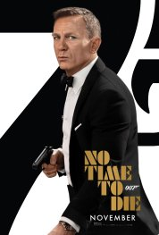 Official One-Sheet Poster for Daniel Craig's final James Bond film, NO TIME TO DIE (2020)