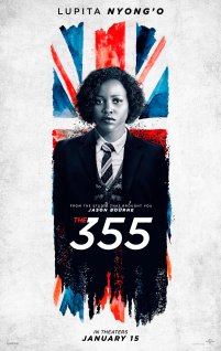 Lupita Nyong'o co-stars as Khandijah in the female action-spy thriller THE 355 (2021)
