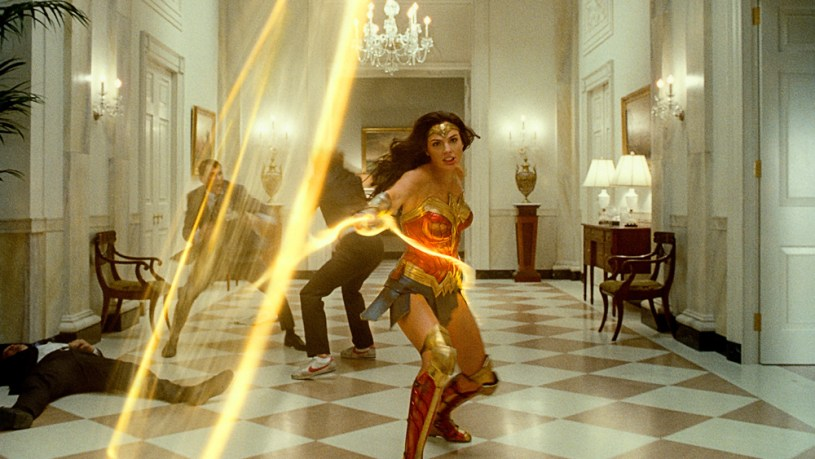 Gal Gadot stars as Wonder Woman in WONDER WOMAN 1984 (2020)