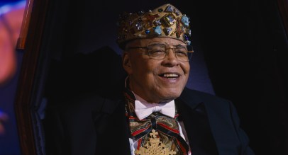 James Earl Jones reprises his role as King Jaffe in COMING 2 AMERICA Photo Courtesy of Amazon Studios