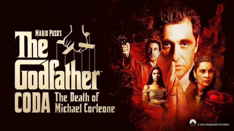 Banner Poster Art for THE GODFATHER CODA: THE DEATH OF MICHAEL CORLEONE (2020)