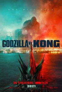 Official Movie Poster for GODZILLA VS KONG (2021)
