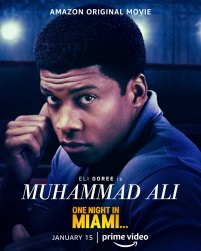One Sheet Poster for Muhammad Ali (Eli Goree) for the Amazon Prime film ONE NIGHT IN MIAMI... (2020)