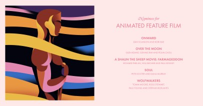 2021 Best Animated Feature Nominees - Petra Eriksson design