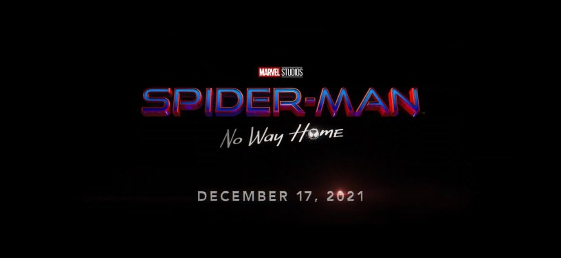 SPIDER-MAN: NO WAY HOME Logo Title and Date