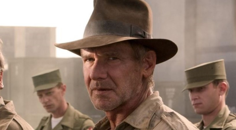 Harrison Ford as Indiana Jones in INDIANA JONES AND THE KINGDOM OF THE CRYSTAL SKULL (2008)