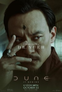 DUNE (2021) Character Poster Dr. Wellington Yueh (Chen Chang)
