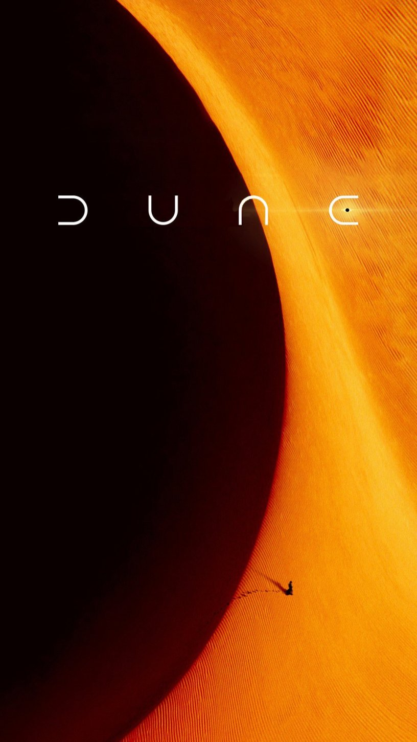 One Sheet Movie Poster for DUNE (2021)
