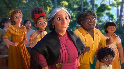 Members of the Madrigal family in the Disney animated movie ENCANTO (2021)