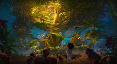A magical tree in the Disney animated movie ENCANTO (2021)