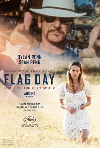 One Sheet Poster for Sean Penn's film FLAG DAY (2021), co-starring his daughter Dylan.