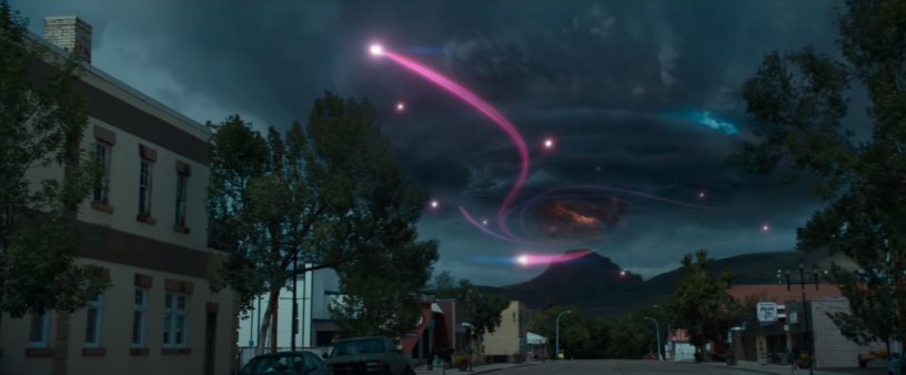 A supernatural storm brews in the franchise reboot GHOSTBUSTERS: AFTERLIFE (2021)