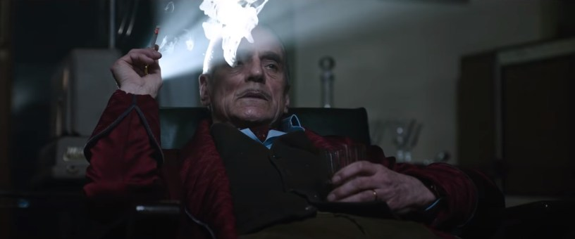 Jeremy Irons co-stars as Rodolfo Gucci in director Ridley Scott's HOUSE OF GUCCI (2021)