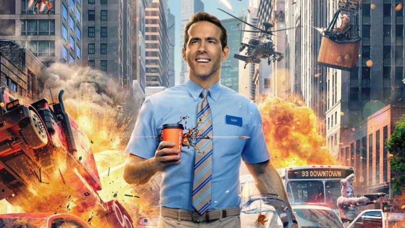 Ryan Reynolds stars in the action-comedy FREE GUY (2021)