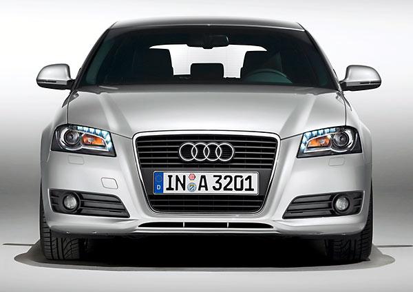 Audi A3 is groen