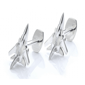 Tornado F3 ZE734 cufflinks in reclaimed aluminium