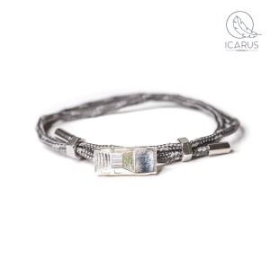 delorean dmc aluminium bracelet