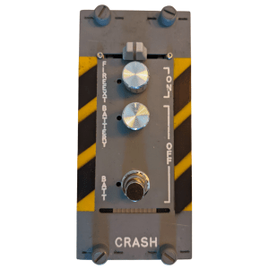SonicAIM Crash panel guitar pedal