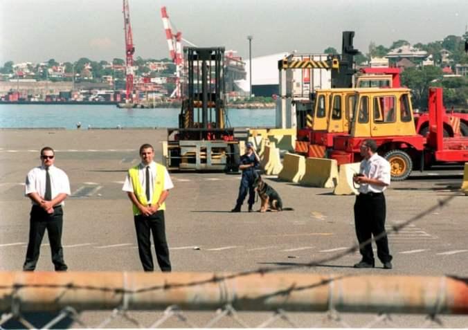 Wharf Dispute crushes economy