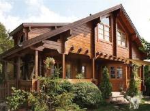madera para casas