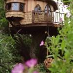 casita de madera en el árbol