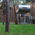 casa en el arbol por Baumraum