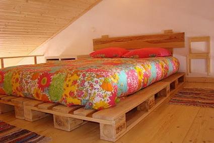 camas de palets grande